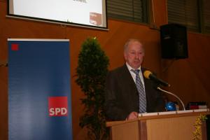 Kreisvorsitzender Peter Pfister