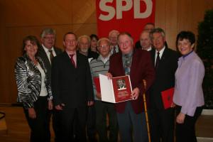 Jubilare der SPD Gochsheim