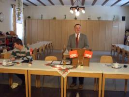 Jahreshauptversammlung 2011 - Vorsitzender Klaus Wörner