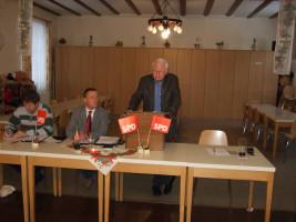 Jahreshauptversammlung 2011 - Walter Bernhardt