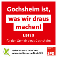 Gochsheim ist was wir draus machen