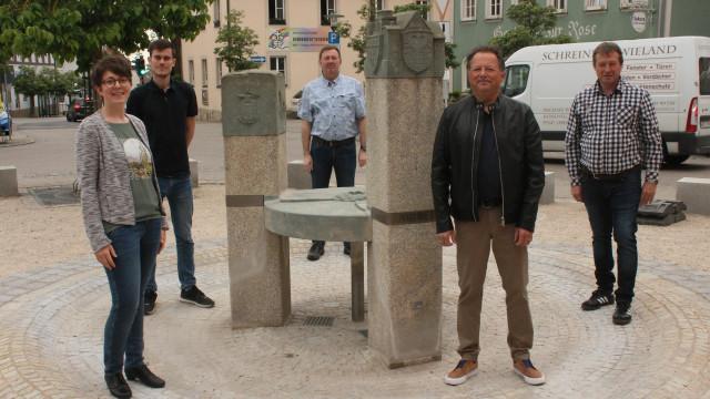 Unser Team in der Ortsmitte von Gochsheim